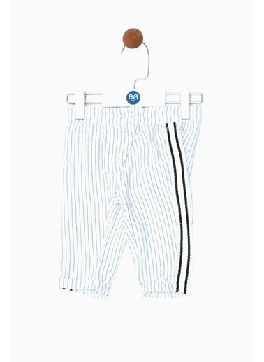 BG Baby Kız Bebek Çizgili Pantolon 19SS0BG2219 Renkli